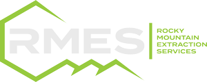 RMES logo with colors reversed